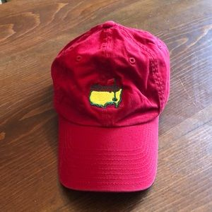 Red Masters Golf Hat